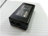 Adapter PoE Huntkey 48V-0.5A 2 Port(1 Data in+ 1 Data PoE Out) HKA02448005-8E