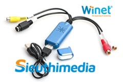 USB Capture WN-CV78 WINET, USB ghi hình AV S-video Video DVR