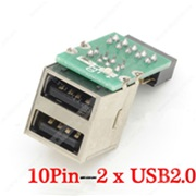 USB 2.0 to 10pin adapter